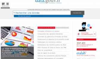 Open Data Frankreich