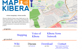 Kenya – Map Kibera