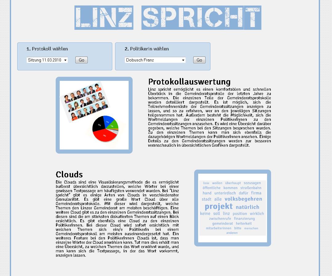 Linz spricht