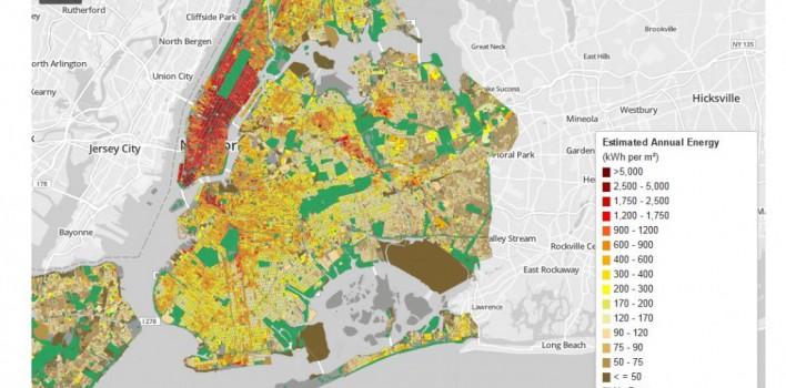 Energy Heatmap New York