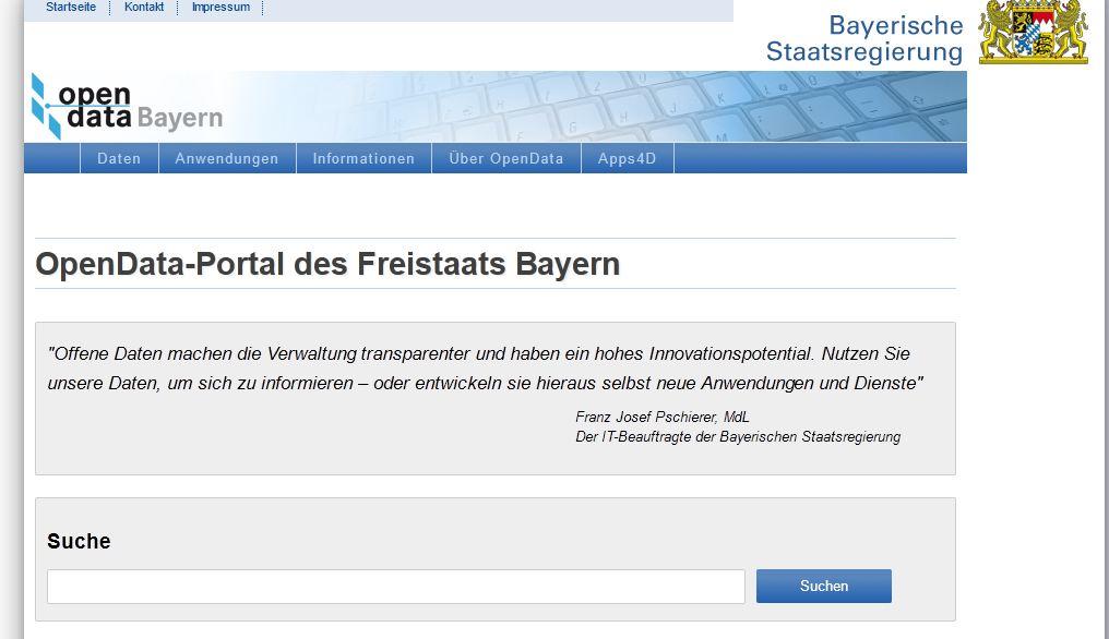 Open Data Bayern