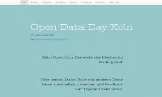 Open Data Day Köln 2013