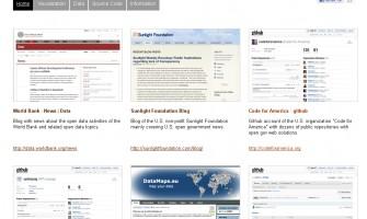Open Data Tools