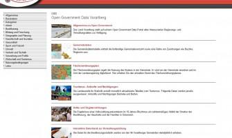 Open Government Data Vorarlberg