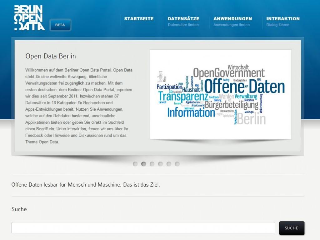 Open Data Berlin