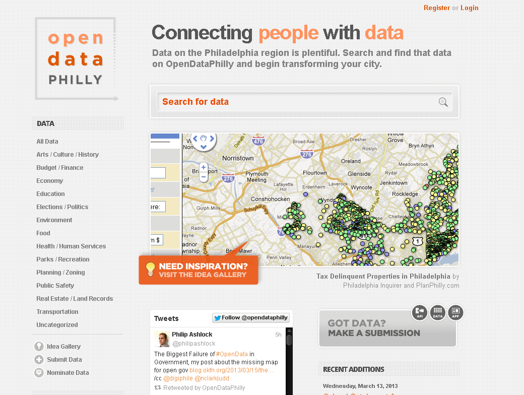 OpenDataPhilly – Connecting People With Data