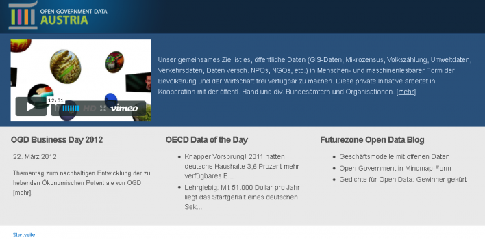 Open Government Data Austria