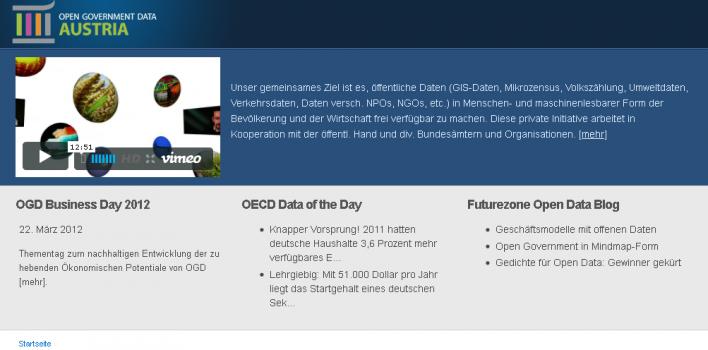 Open Government Data Austria