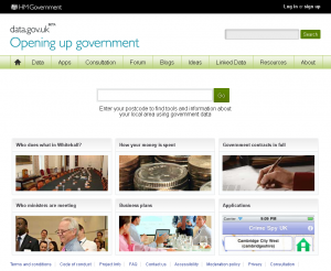 data.gov.uk   Opening up government