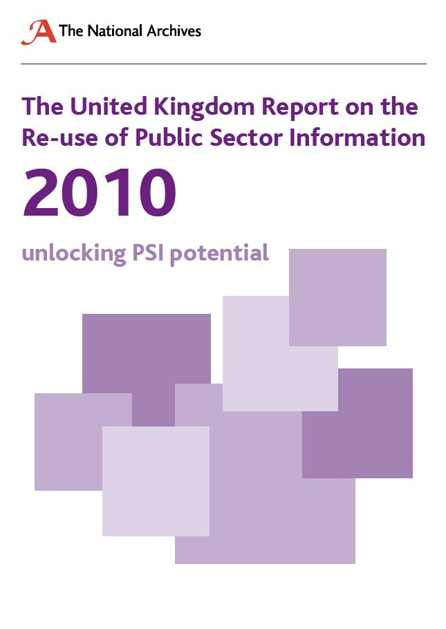 The United Kingdom Report on the Re-use of Public Sector Information