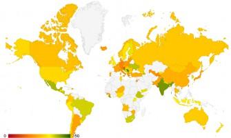 Recht auf Zugang zu Behördeninformationen – Karte
