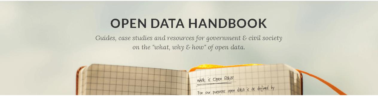 Open Data Handbook