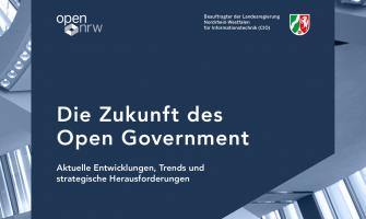 """Foresight Bericht """"Die Zukunft des Open Government"""""""