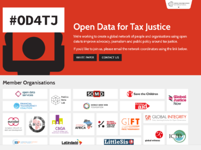 Open Data for Tax Justice