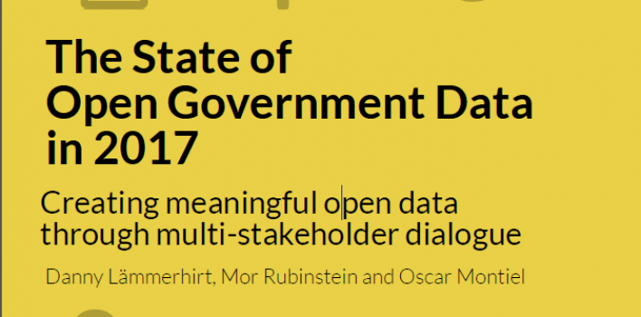 The State of Open Government Data in 2017