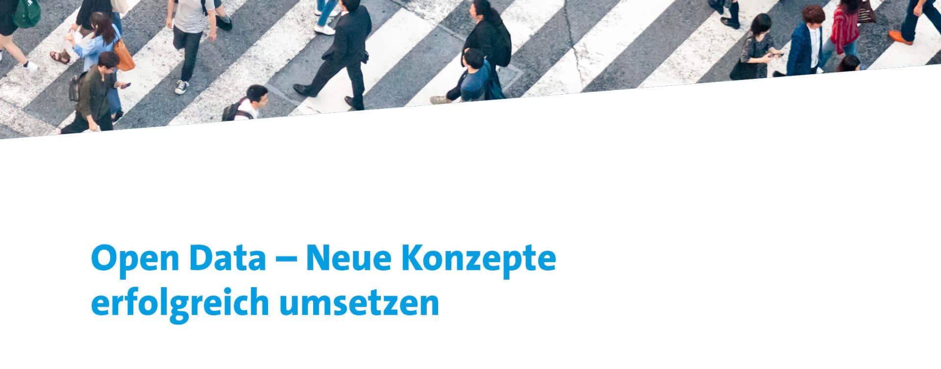 """Bitkom Leitfaden  """"Open Data – Neue Konzepte erfolgreich umsetzen"""""""