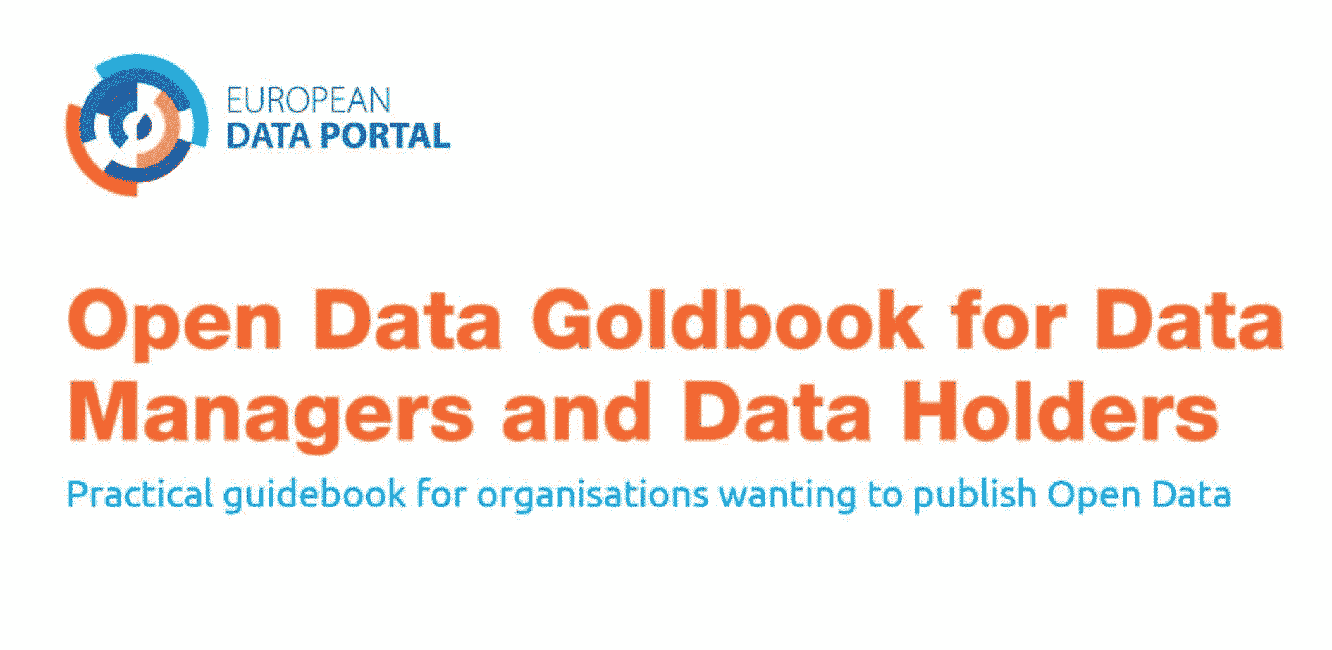 Open Data Goldbook for Data Managers and Data Holders