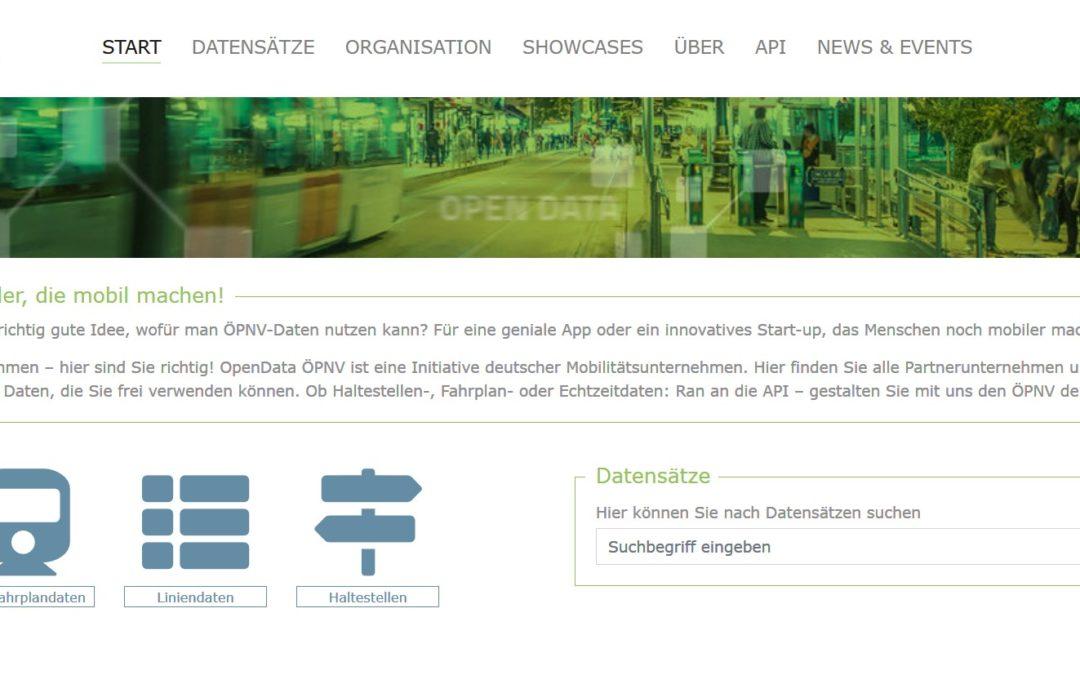 Open Data ÖPNV