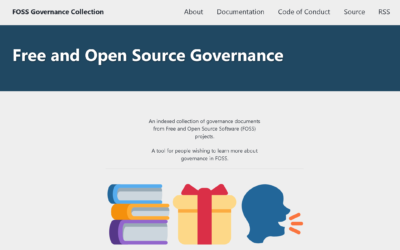 FOSS Governance Collection