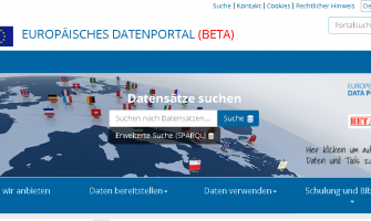 Europäisches Datenportal
