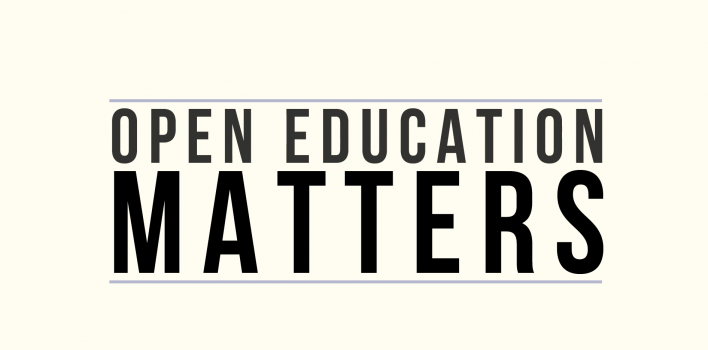 Why Open Educational Resources Matters