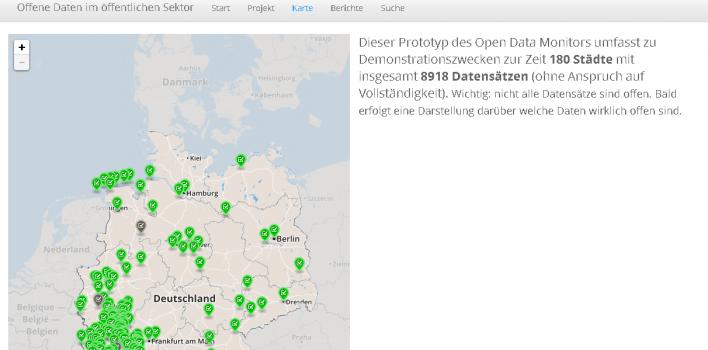 Open Data Monitor – Offene Daten im öffentlichen Sektor