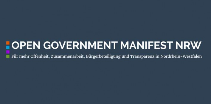 Open Government Manifest NRW