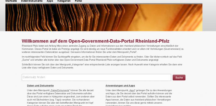 Open Data Portal Rheinland-Pfalz