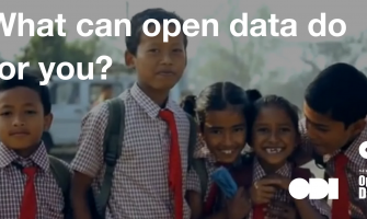 What can open data do for you?